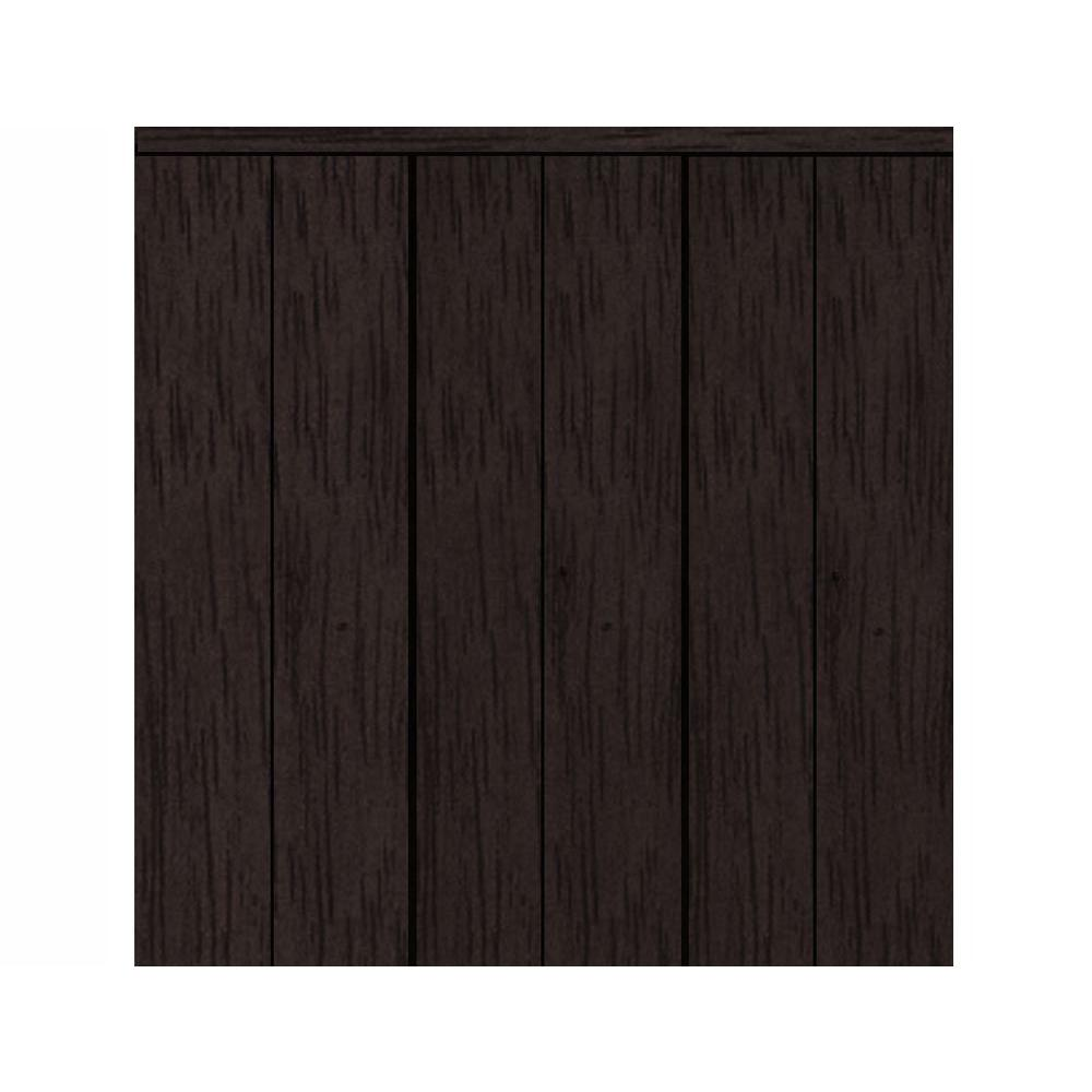120 in. x 80 in. Smooth Flush Espresso Solid Core MDF