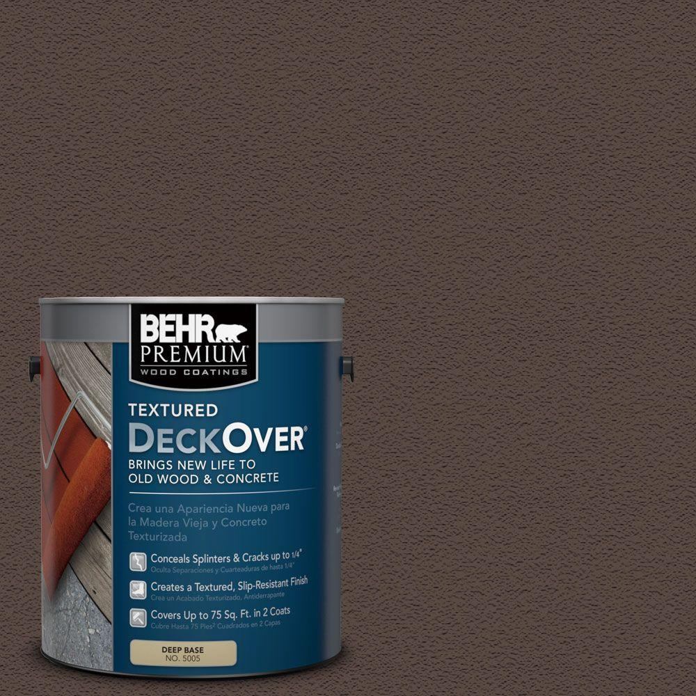 1 gal. #SC-105 Padre Brown Wood and Concrete Coating