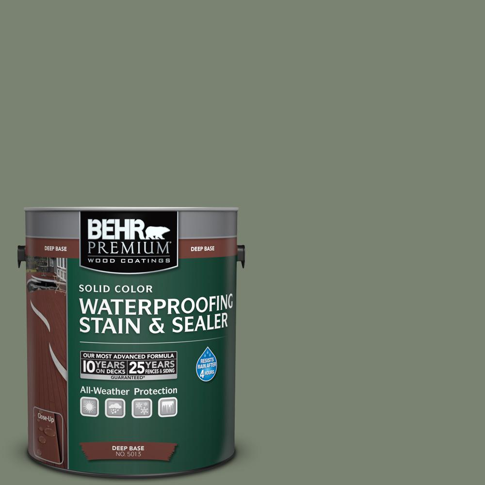 Icc 77 Sage Green Solid Color Waterproofing Exterior Wood