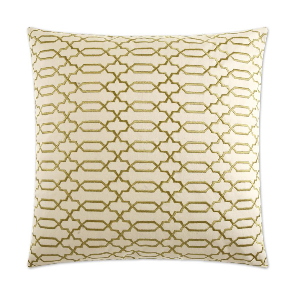 Lattice Feather Down 24 in. x 24 in. Standard Decorative Throw