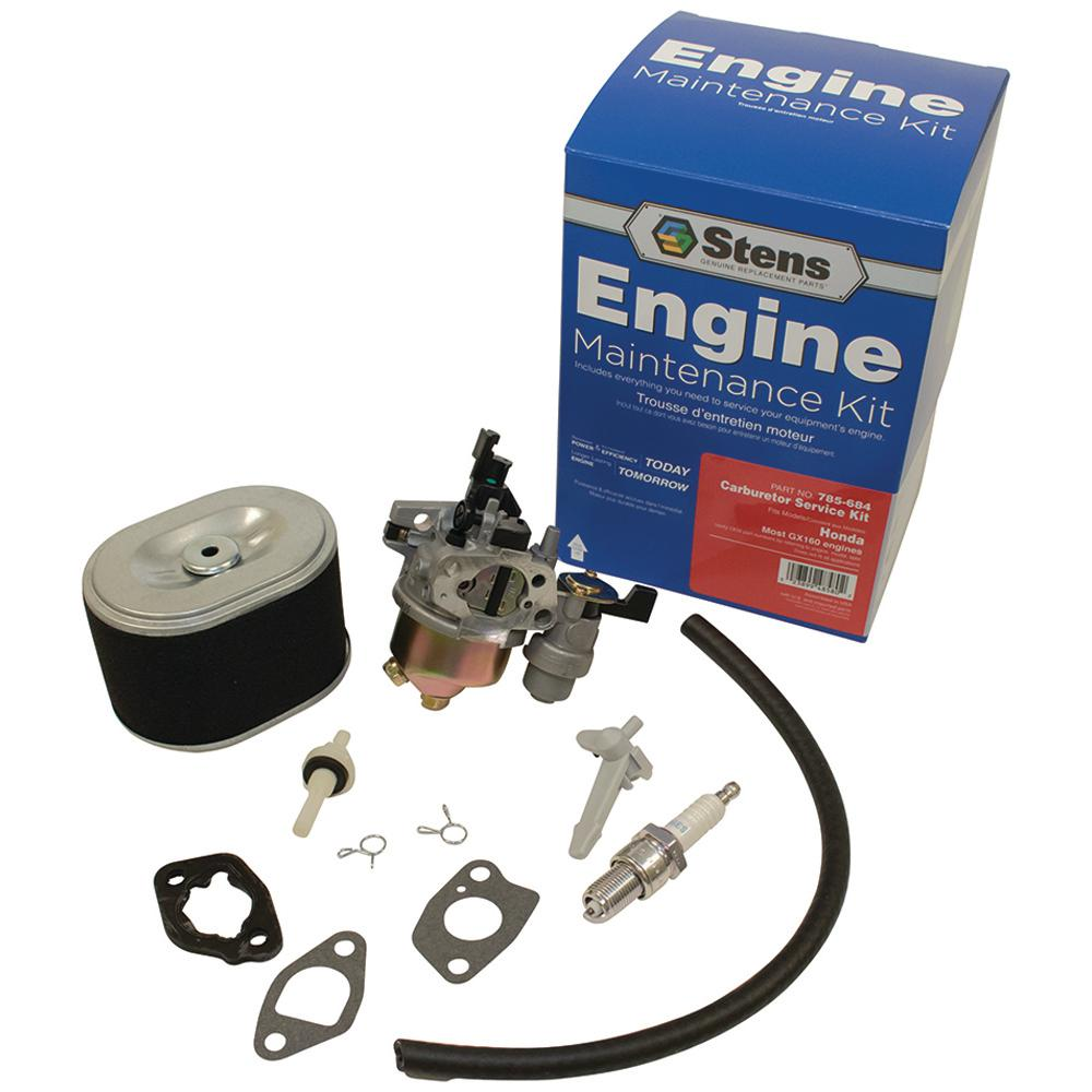 Carburetor Service Kit for Honda GX160