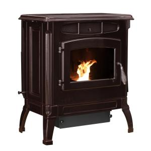 Ashley Hearth Products 2,000 sq. ft. EPA Certified Cast Iron Pellet Stove Mahogany... by Ashley Hearth Products