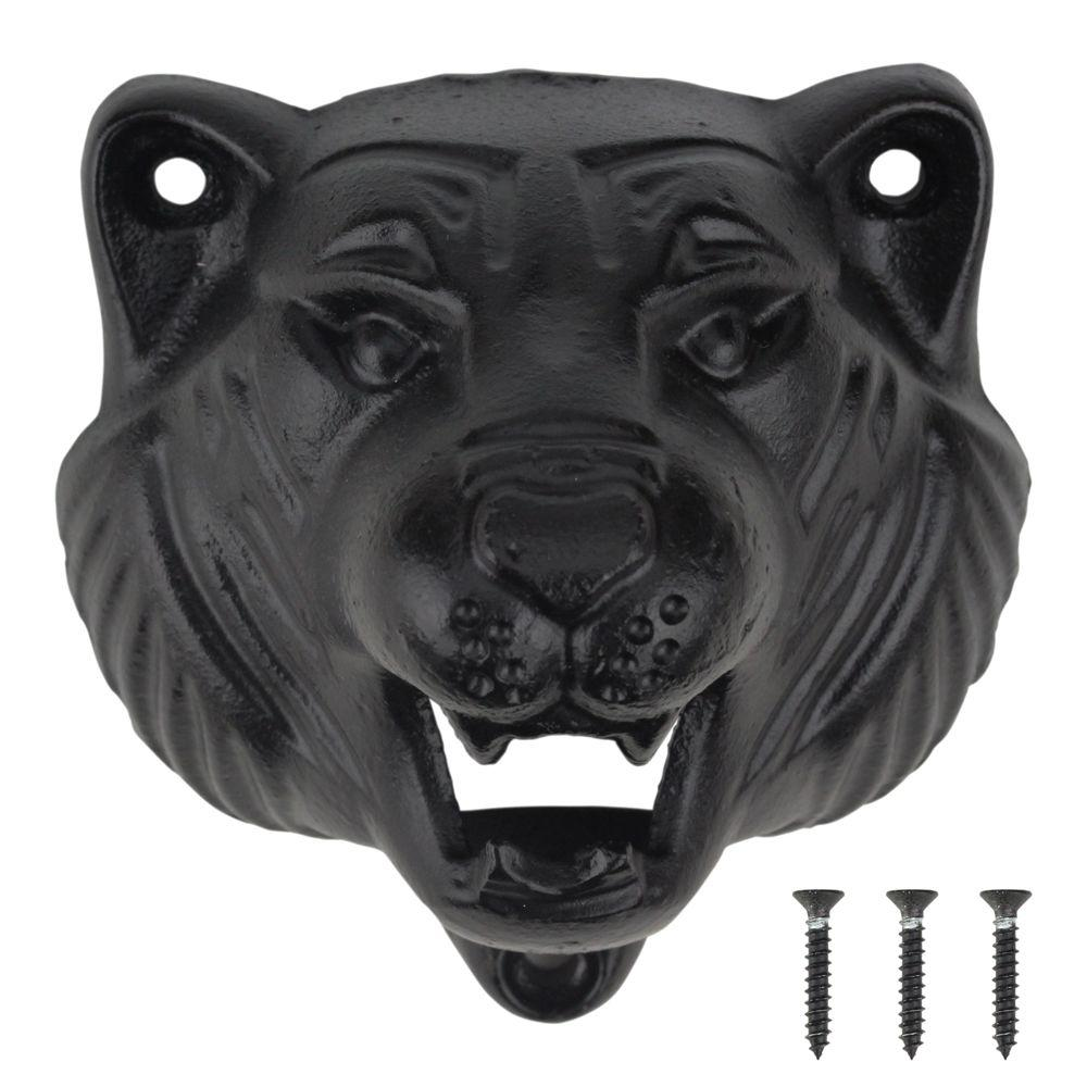 home decorators collection tiger bottle opener 62295 the home depot. Black Bedroom Furniture Sets. Home Design Ideas