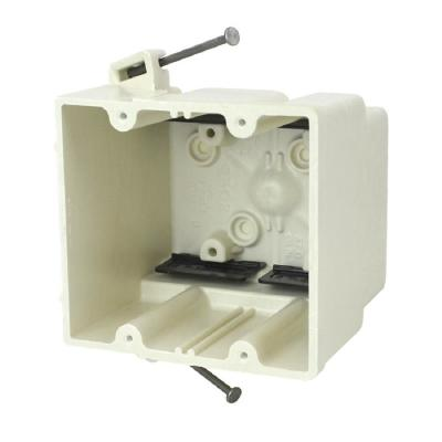 2-Gang 37 cu. in. New Work Switch or Receptacle Box