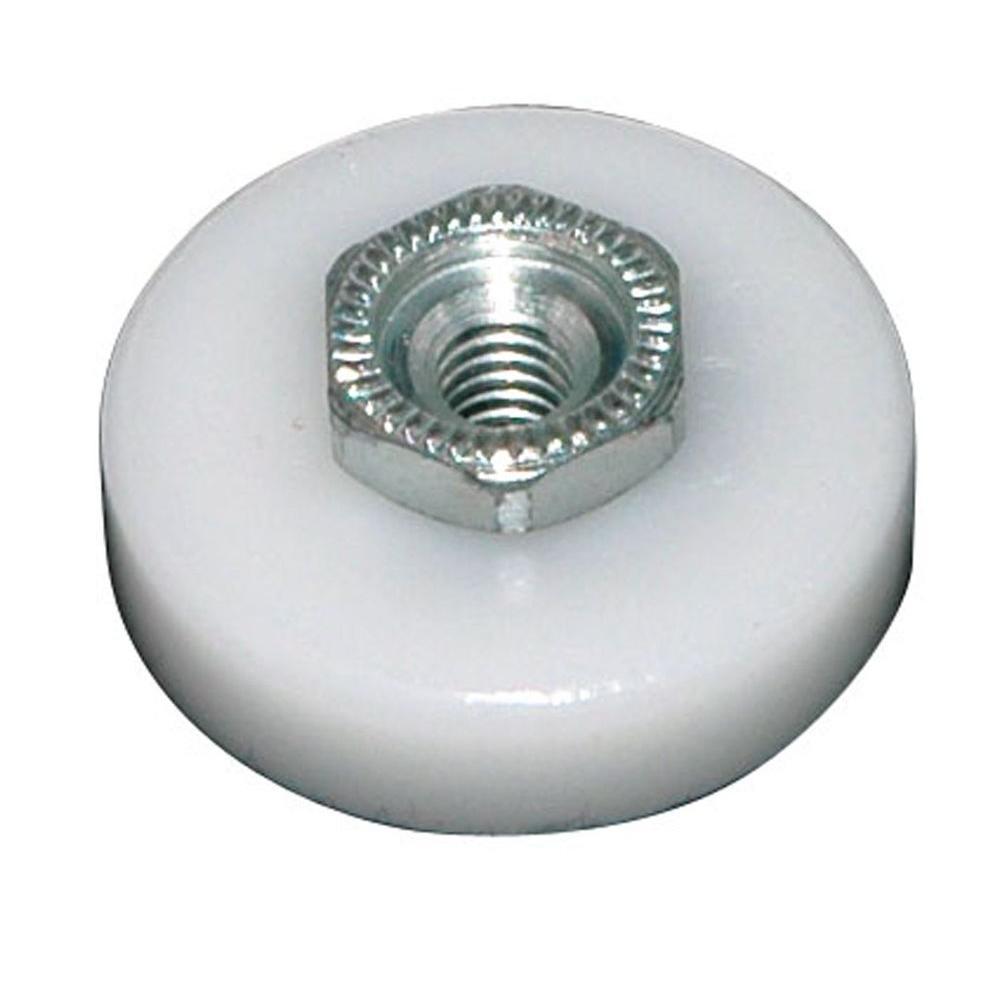 7/8 in. Nylon Flat Shower Door Wheel (2-Pack)