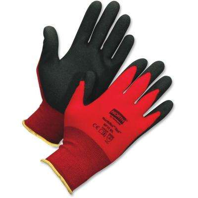 NorthFlex Large Red Work Gloves