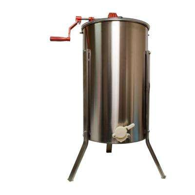 21 in. x 21 in. x 42 in. Stainless Steel 2 Frame Honey Extractor