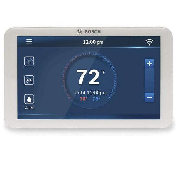 BCC100 Connected Control 7-Day Wi-Fi Internet 4-Stage Programmable Color Touchscreen Thermostat with Weather Access