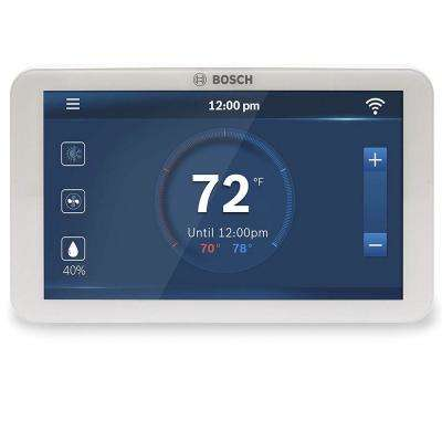 7-Day Wi-Fi Internet 4-Stage Programmable Color Touchscreen Thermostat with Weather Access