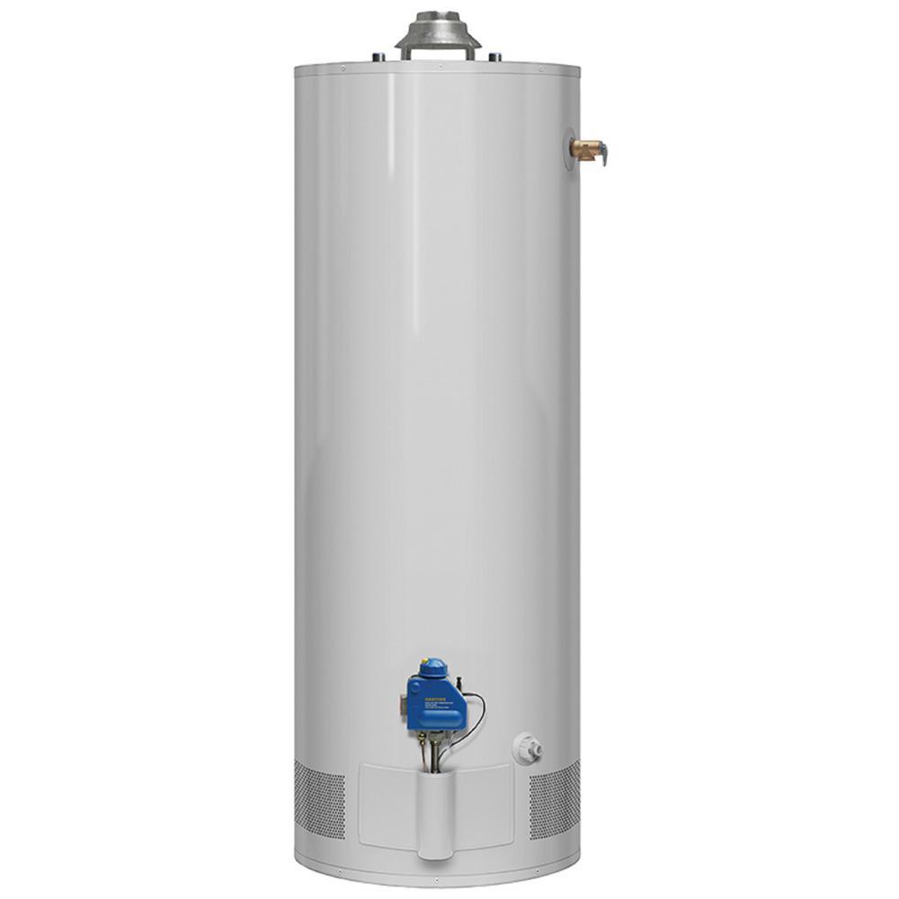 40 Gal. Tall 3 Year 34,000 BTU Natural Gas Tank Water Heater