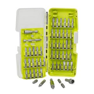 Ryobi 55 Piece Steel Driving Bit Set