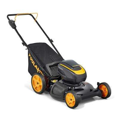 PRLM21i 21 in. 58-Volt Lithium-Ion Cordless Battery 3-in-1 Walk Behind Push Lawn Mower Battery Included