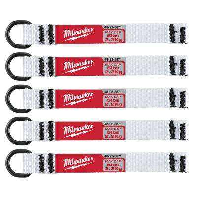 5 lb. D-Ring Lanyard Attachment (5-Piece)