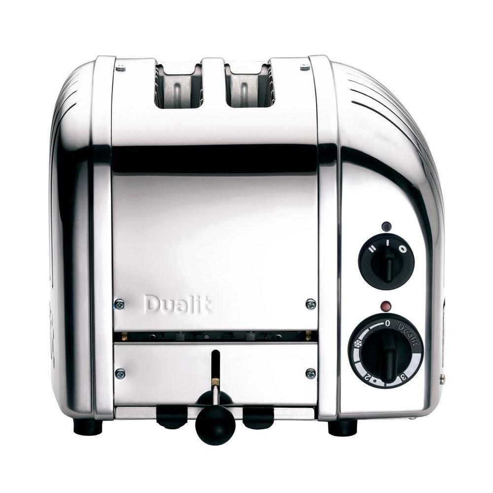Dualit New Gen 2 Slice Chrome Toaster The Home Depot