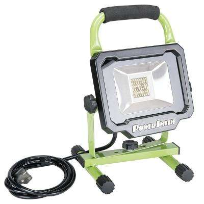 2500-Lumen LED Portable Work Light