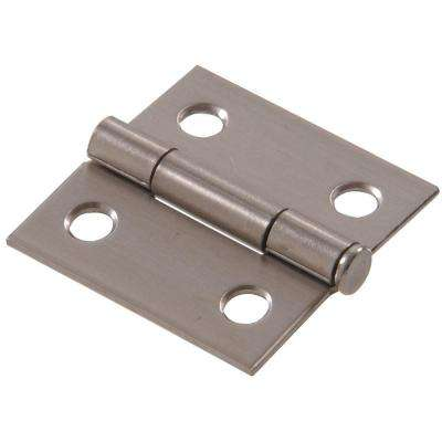 1-1/2 in. Stainless Steel Residential Door Hinge (6-Pack)