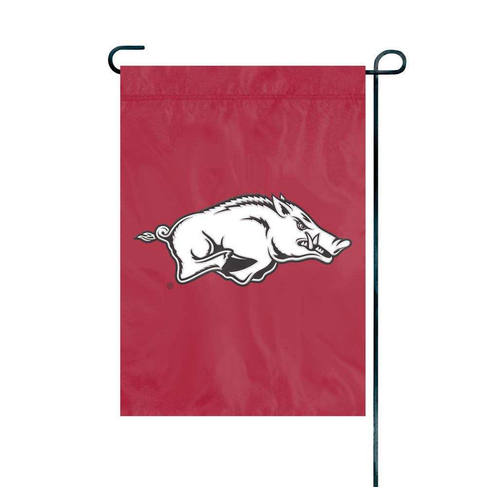 Arkansas Razorbacks Premium Garden Flag