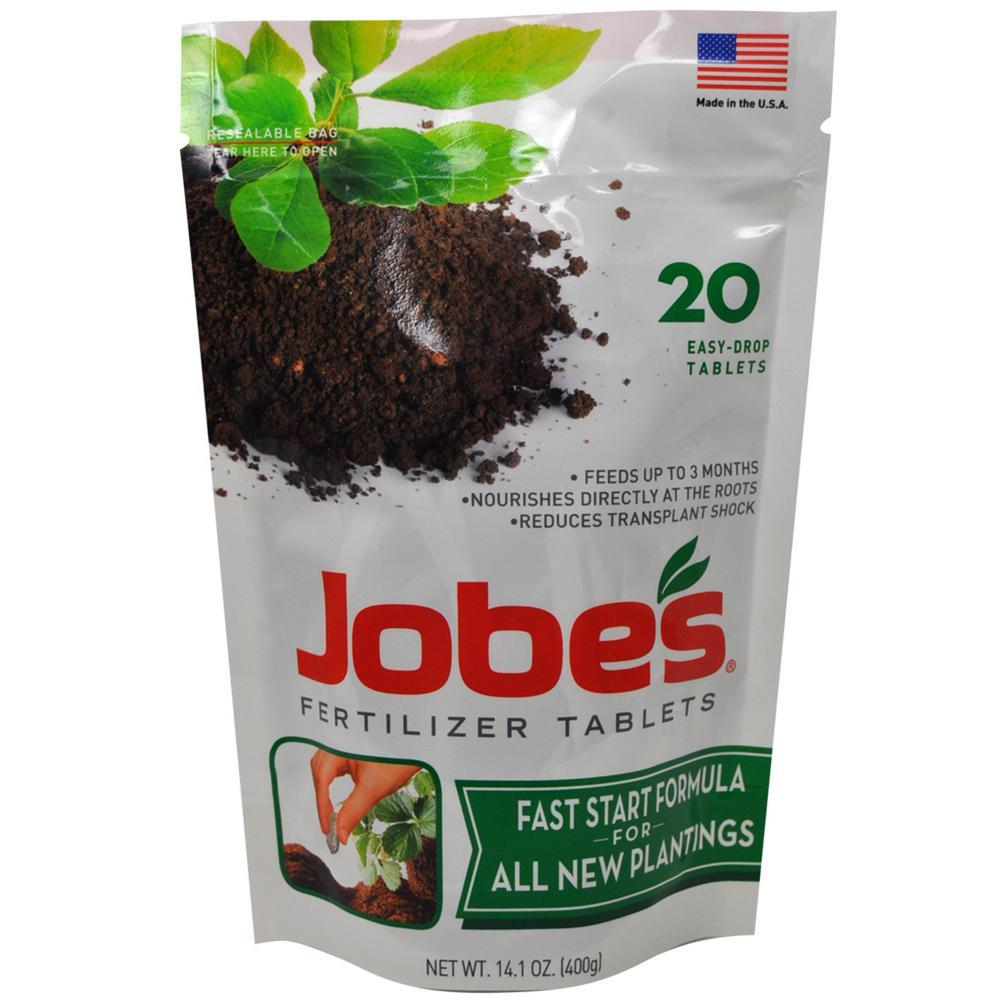 .88lb Fast Start Plant Food Fertilizer Tablets (20-Pack)