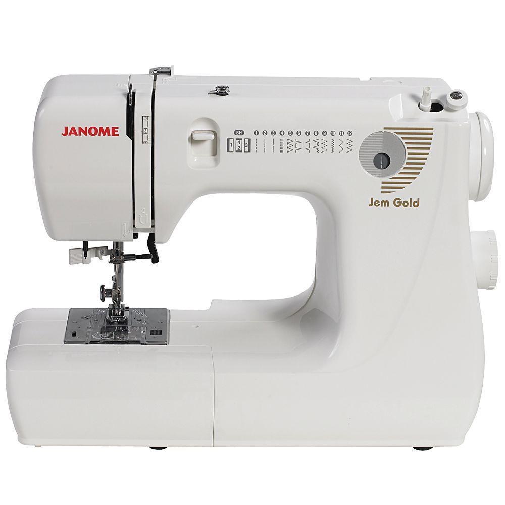 Janome Jem Gold Portable Sewing Machine 660