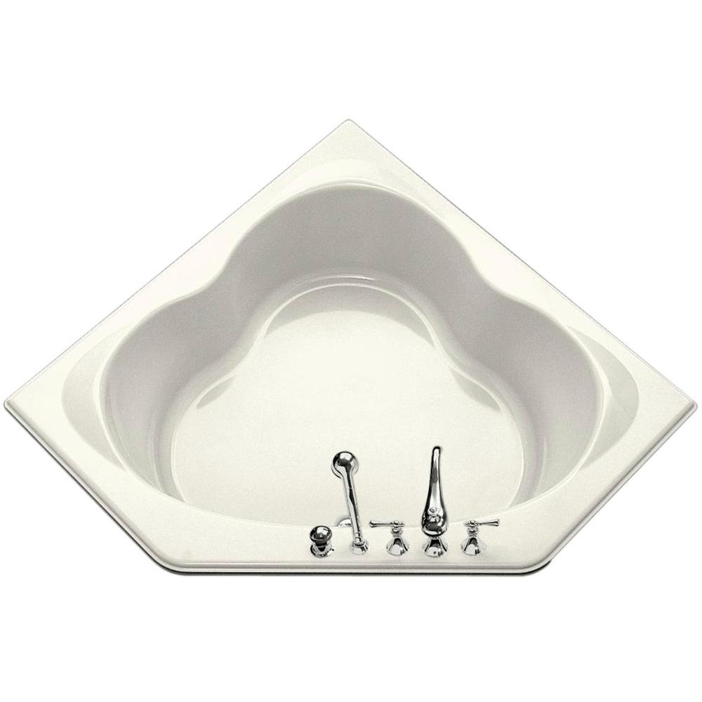 KOHLER Sojourn 5 ft. Bath, Front Drain in Biscuit-DISCONTINUED