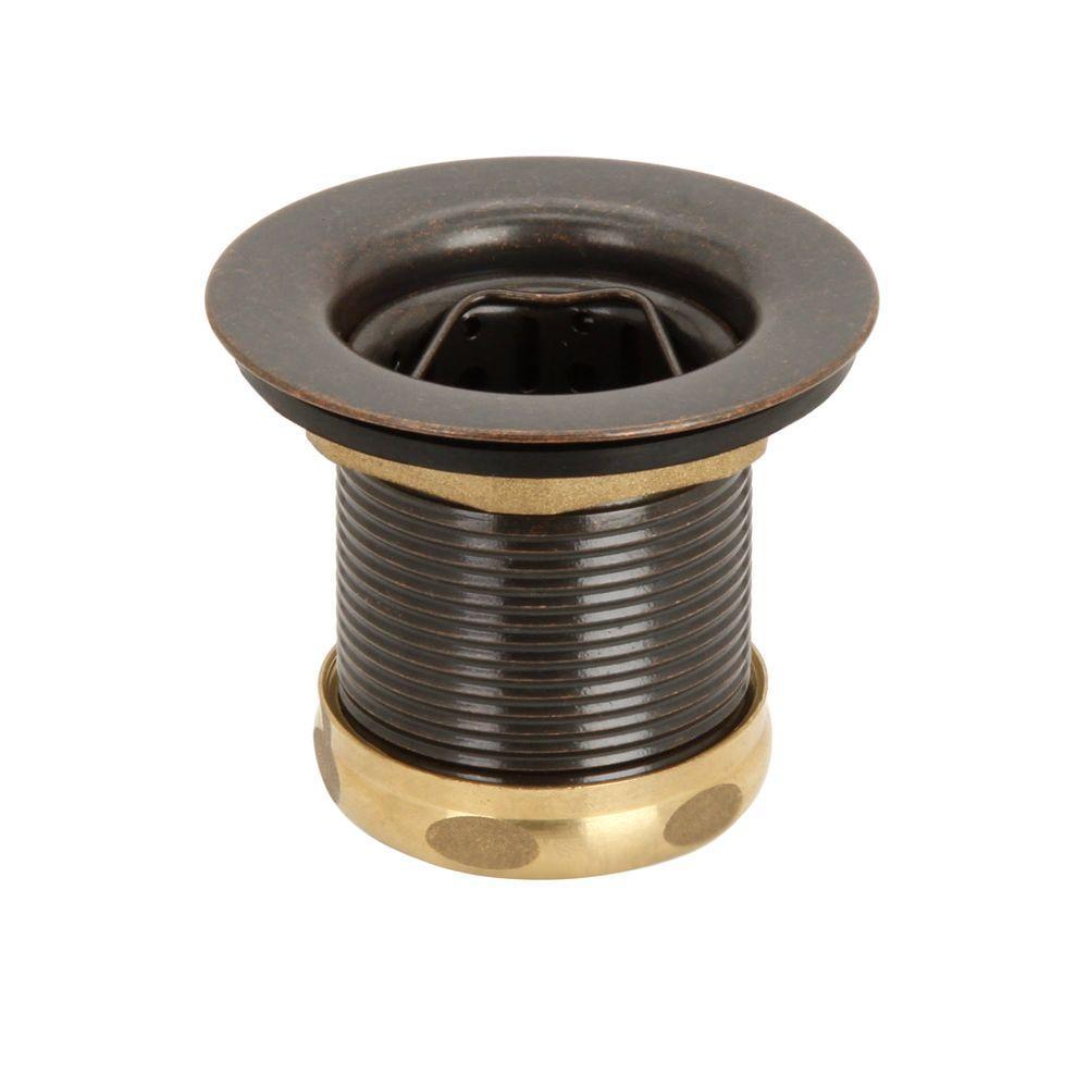 Belle Foret 2 In. Basket Sink Strainer In Tumbled Bronze