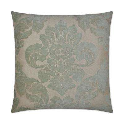 Ephesus Feather Down 24 in. x 24 in. Standard Decorative Throw Pillow