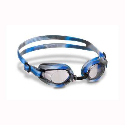 Spectra Blue/Black Youth/Adult Silicone Goggle