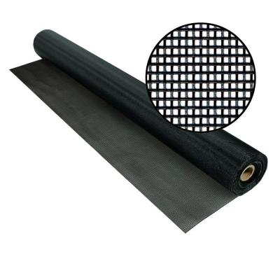 96 in. x 100 ft. Black TuffScreen