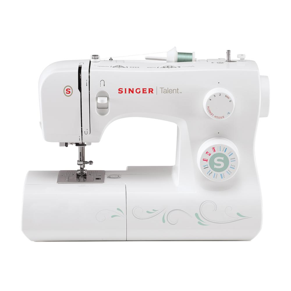 SINGER SEWING CO. Talent 21-Stitch Sewing Machine With Au...