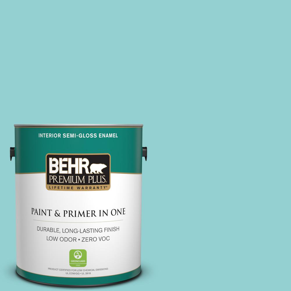 1-gal. #M460-3 Big Surf Semi-Gloss Enamel Interior Paint
