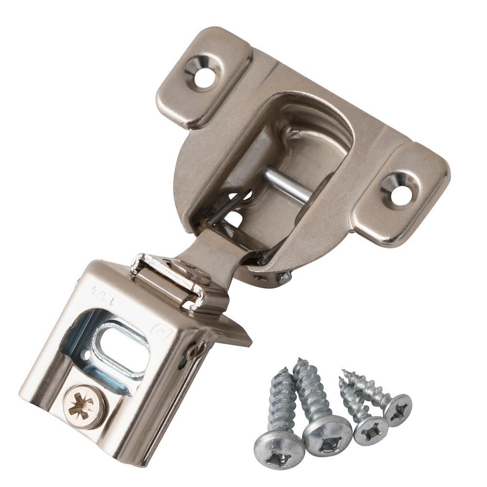 Blum 1-1/4 in. Overlay Frame Cabinet Hinge (2-Pack)