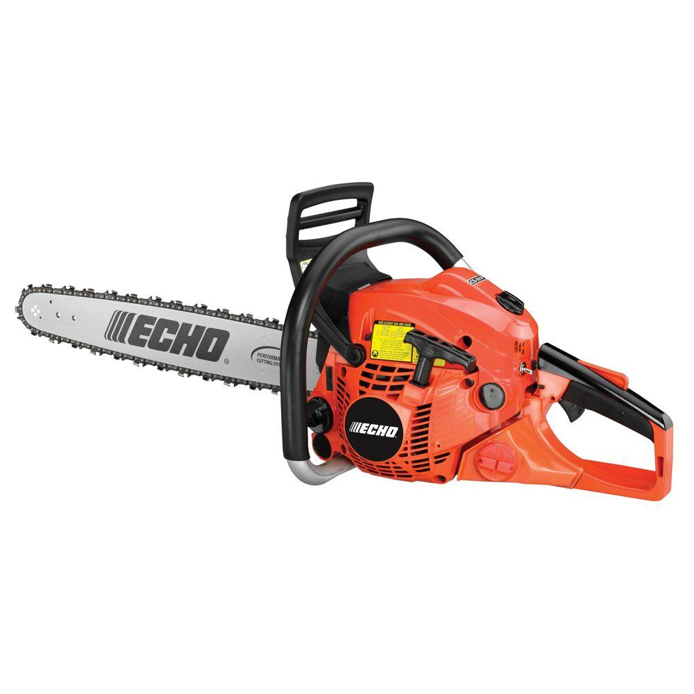 echo 20 in gas chainsaw cs 501p 20 the home depot. Black Bedroom Furniture Sets. Home Design Ideas