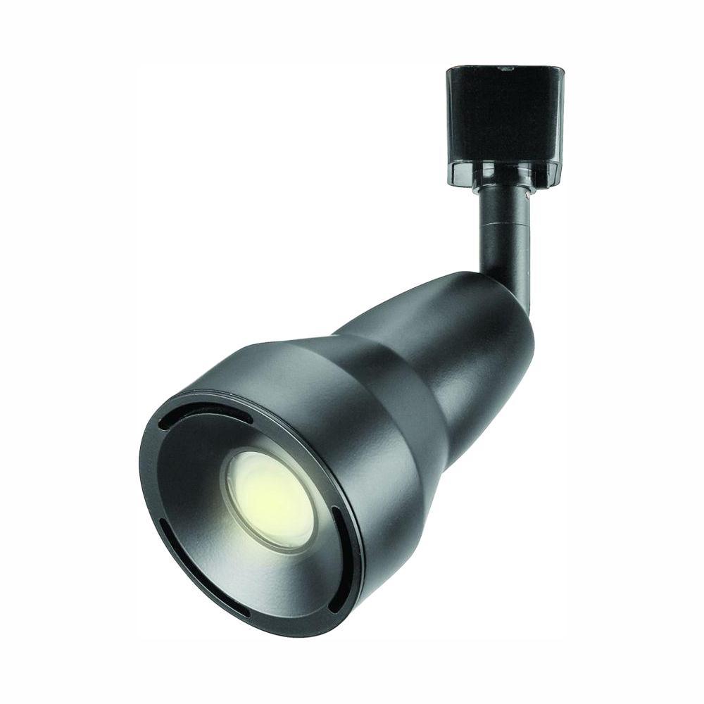 3.1 in. 9-Watt Black LED Adjustable Track Lighting Head