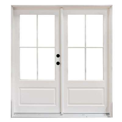 Patio doors exterior doors the home depot for White french doors exterior