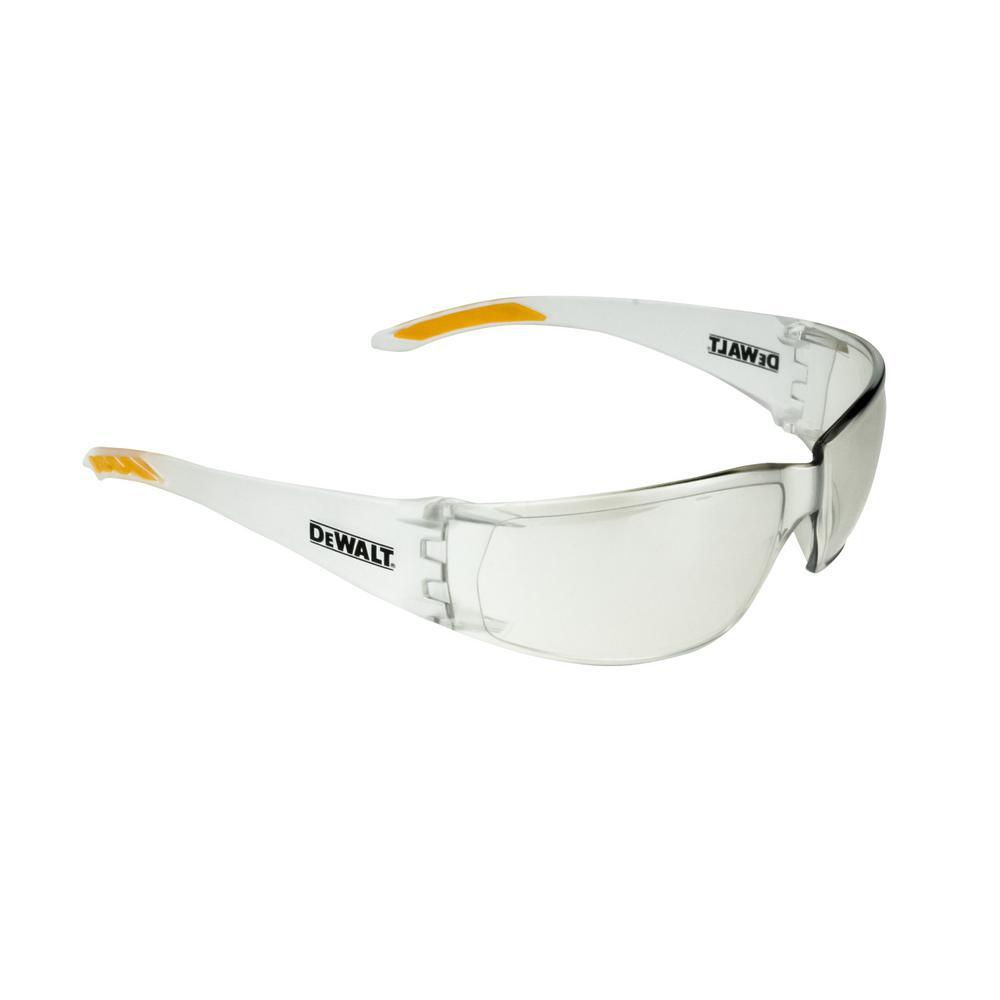c02465f57f DEWALT Gable Silver Mirror Lens Safety Glass-DPG98-6C - The Home Depot