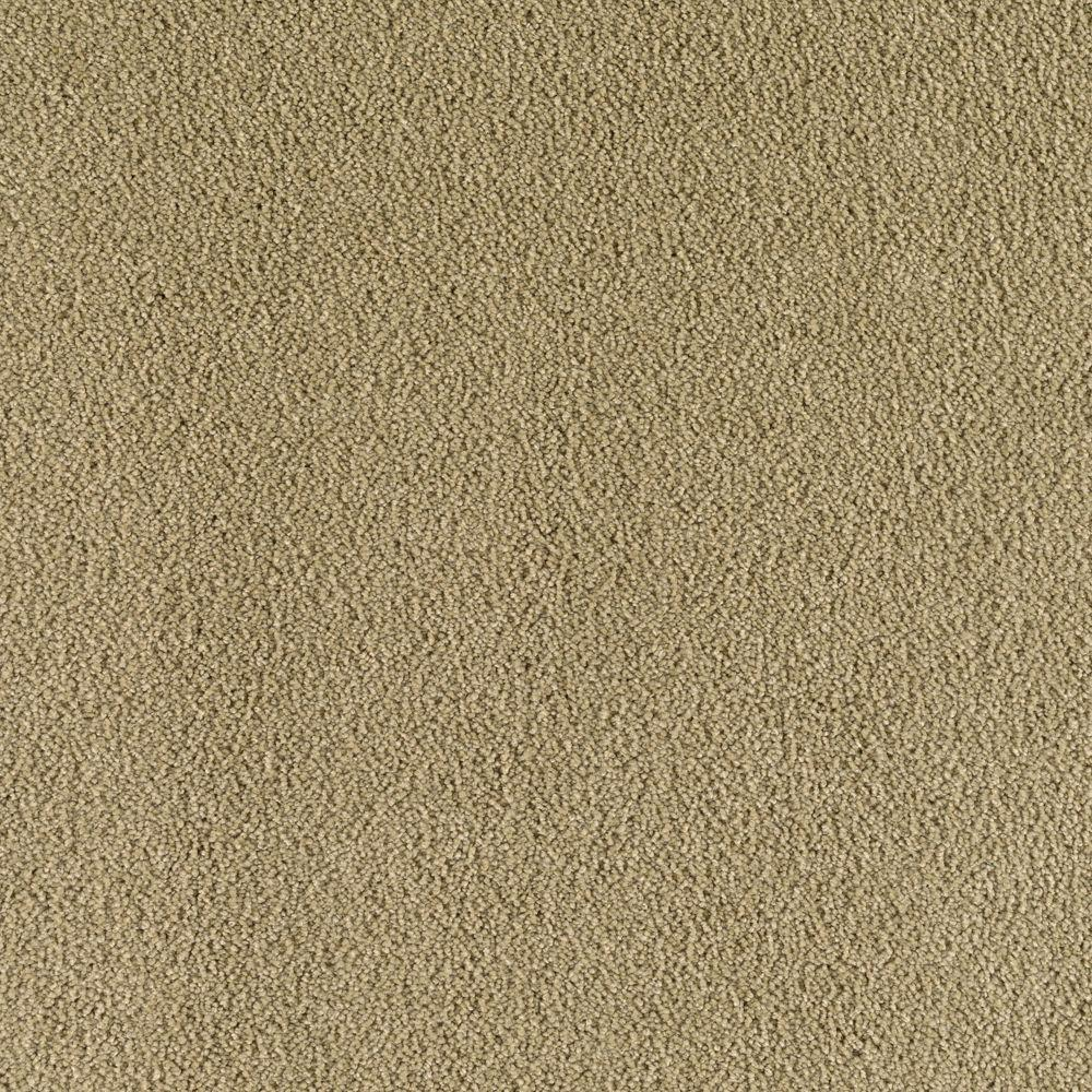 Cashmere II - Color Spring Leaf Texture 12 ft. Carpet