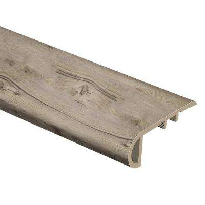 Chestnut Sand 1 in. Thick x 2-1/2 in. Wide x 94 in. Length Vinyl Stair Nose Molding