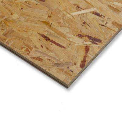Osb Panel Sheathing Subflooring Plywood Lumber Composites The Home Depot