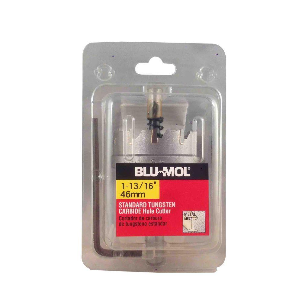 BLU-MOL 1-13/16 inch Standard Tungsten Carbide Hole Cutter by BLU-MOL