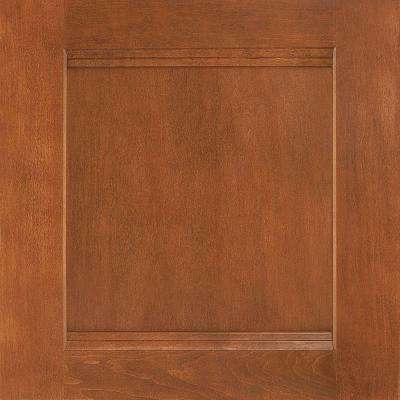 14-1/2x14-9/16 in. Cabinet Door Sample in Del Ray Maple Cognac