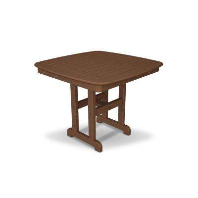 Yacht Club 37 in. Tree House Patio Dining Table