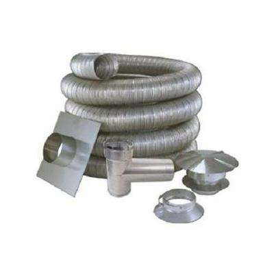 7 in. x 35 ft. All Fuel Stainless Steel Kit