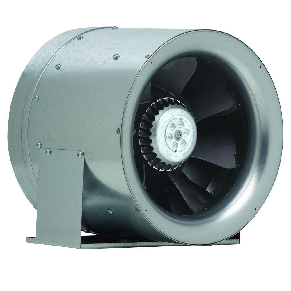 10 in. 1019 CFM Ceiling or Wall Bathroom Exhaust Fan