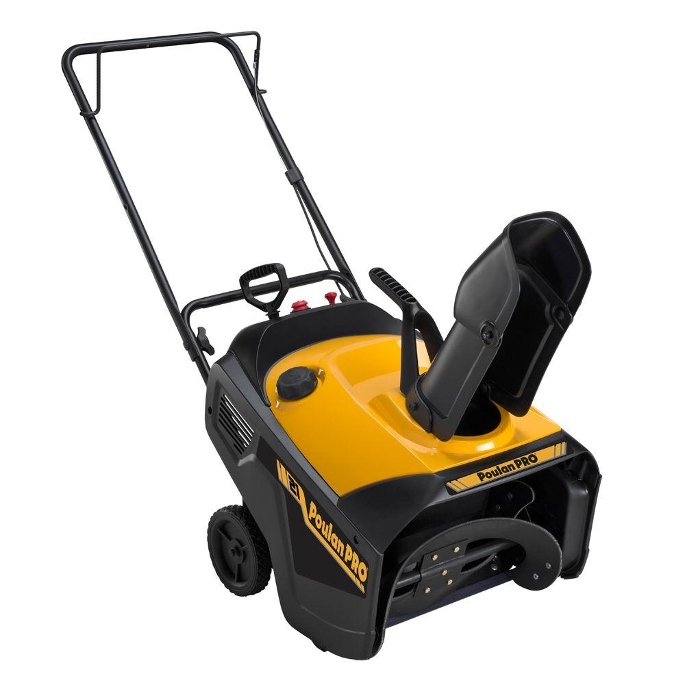 Poulan PRO 21 in. Single-Stage Gas Snow Blower-DISCONTINUED