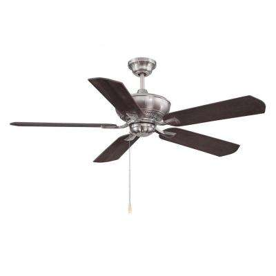 Anuran 52 in. Brushed Pewter Indoor Ceiling Fan