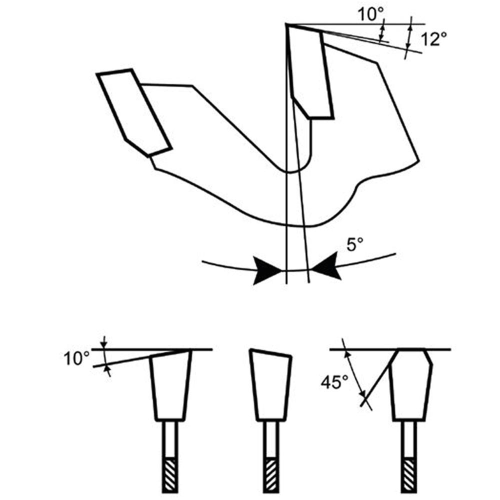 Round Nose Tree SF-5NF 1//4 Shank Diameter 2-3//4 Overall Length 1//2 Diameter 1 Length of Cut Titan USA TNU   128665 1 Length of Cut 1//2 Diameter Titan TB19603 Solid Carbide Bur 2-3//4 Overall Length Aluminum Cut 1//4 Shank Diameter