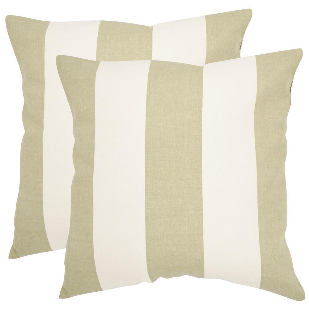 Safavieh Sally Printed Patterns Pillow (2-Pack) PIL913D-2222-SET2