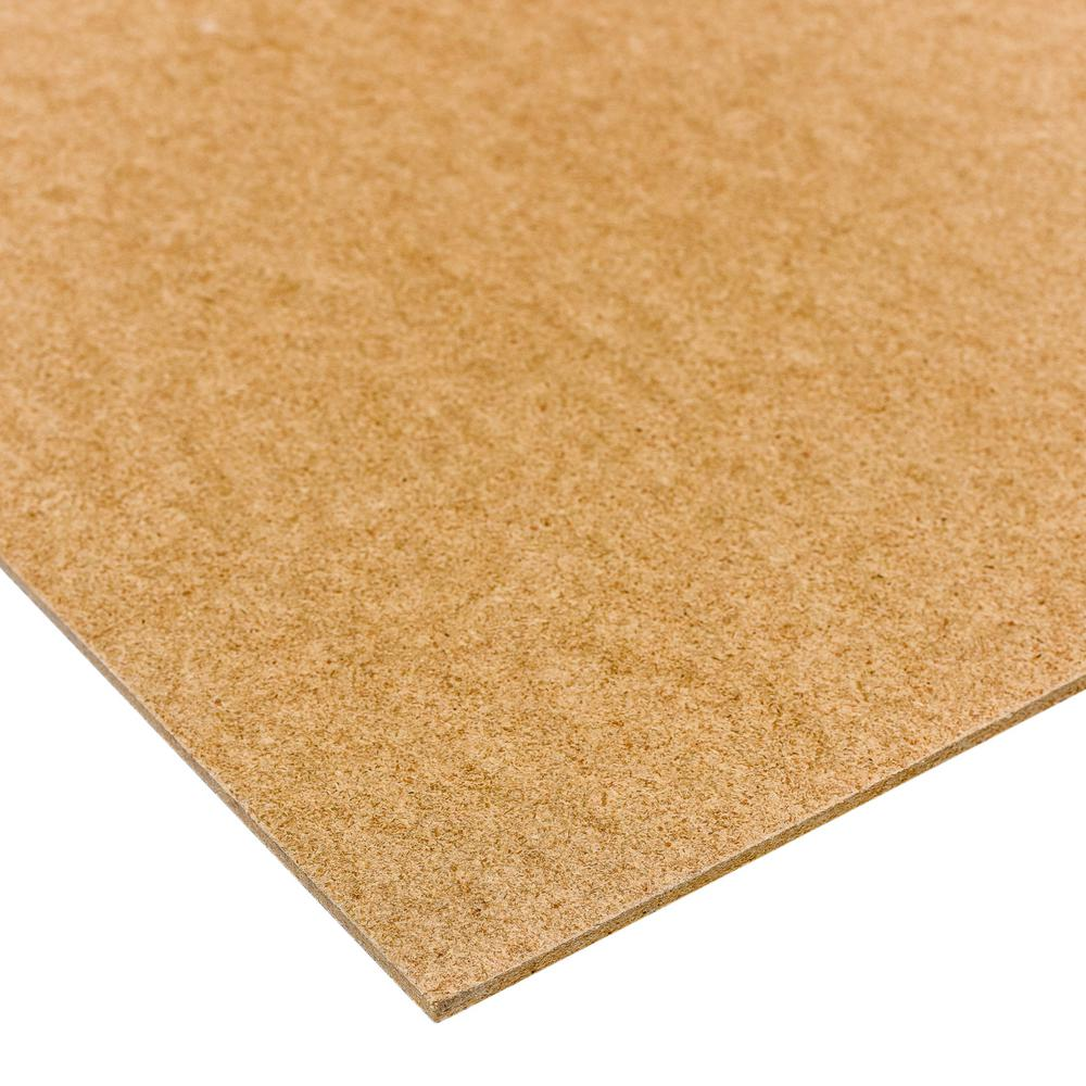 Dimensions 1/8 in. x 2 ft. x 4 ft. Project Panel Tempered Hardboard (Actual: 0.115 in. x 23.75 in. x 47.75 in.)