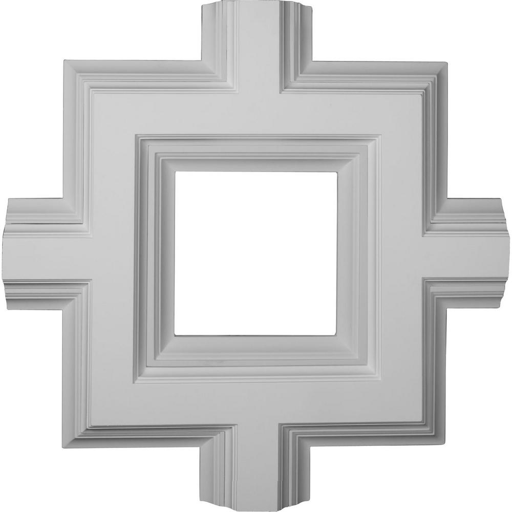 36 in inner square intersection for 8 in deluxe coffered ceiling system