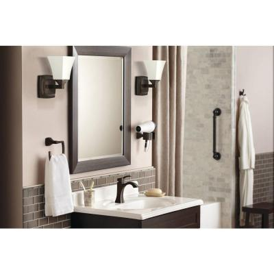 Voss Single Hole Single-Handle High-Arc Bathroom Faucet in Oil Rubbed Bronze